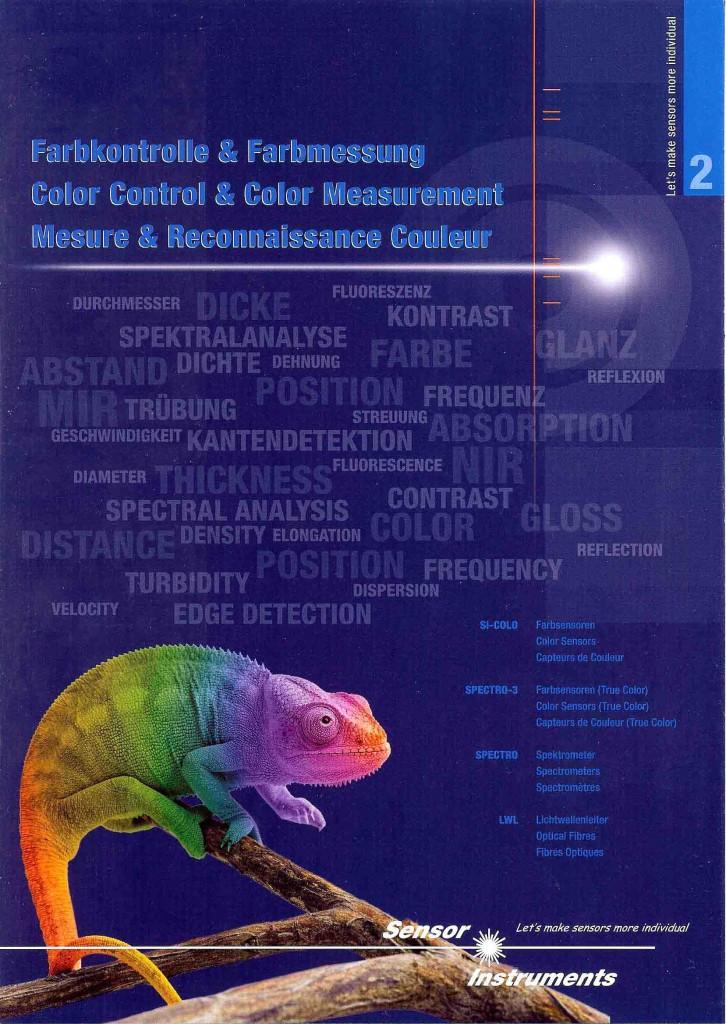 farbkontrollefarbmessung